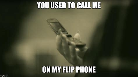 Flip Phone Meme - image tagged in adele hello drake hotline bling imgflip