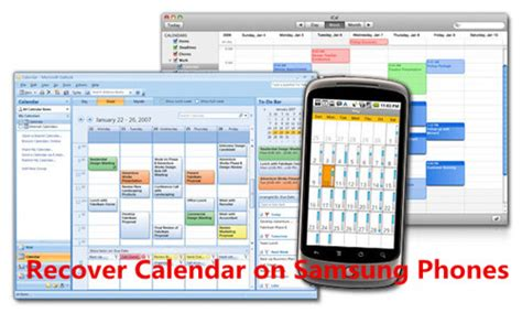 Where Is Calendar On Samsung Galaxy S6 How To Retrieve Deleted Calendar On Galaxy S7 S6 S5