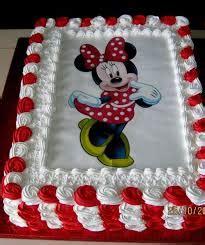 decoracion de tortas con crema de minnie resultado de imagen para torta de minnie con crema
