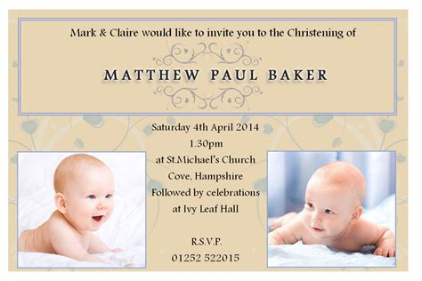 christening invitation layout sle collection of thousands of free baptism invitation from