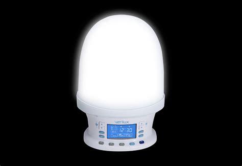 wake  natural light alarm clock  sharper image