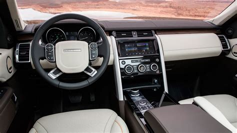 discovery land rover 2017 interior land rover discovery 2017 review by car magazine