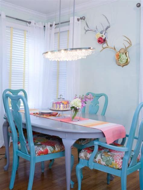 furniture shabby chic dining room photos hgtv blue and