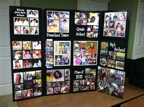 picture board ideas graduation picture boards on pinterest picture collage board graduation photo displays and