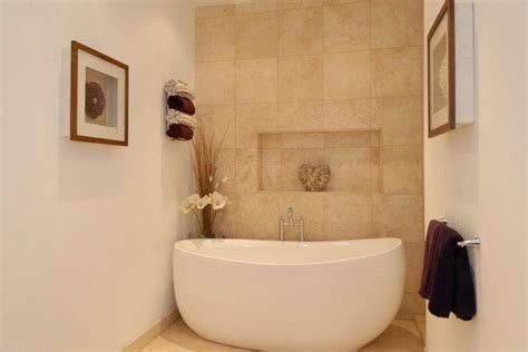 feature wall bathroom ideas compact beige bathroom design ideas photos inspiration