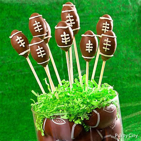 Football Decorations City football cake pops idea city