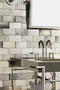 ann sacks antique mirrored subway tiles hardware
