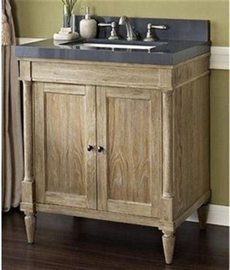 Rustic Bathroom Sink Cabinets Fairmont Designs Rustic Chic 30 Quot Vanity Weathered Oak Rustic Bathroom Vanity Units Sink