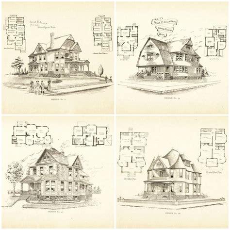 gothic frame dwelling vintage house plans 1881 antique 79 best vintage house plans 1800s images on pinterest