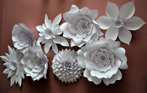 Paper Flower Kit - paper flower kit by rusticpetalsbyjoetta on etsy