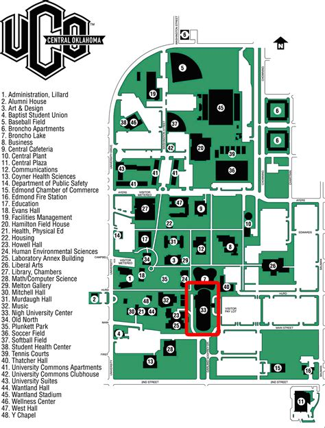 uco parking map uco search results summary daily trends