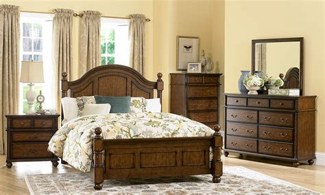 colony country rustic bedroom set von furniture