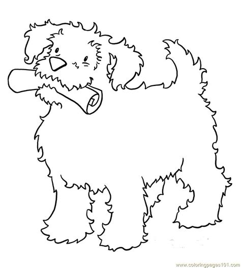 coloring pages baby dog animals gt dogs free printable