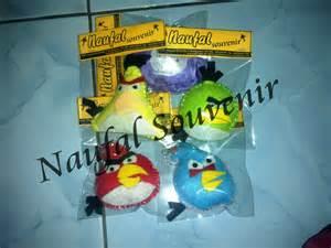 Cincin Angry Birds gantungan kunci angry bird