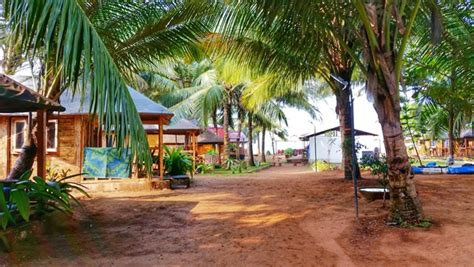 best place to stay in goa agonda huts best huts in south goa best