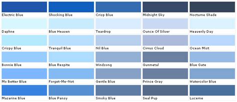blue paint swatch images frompo