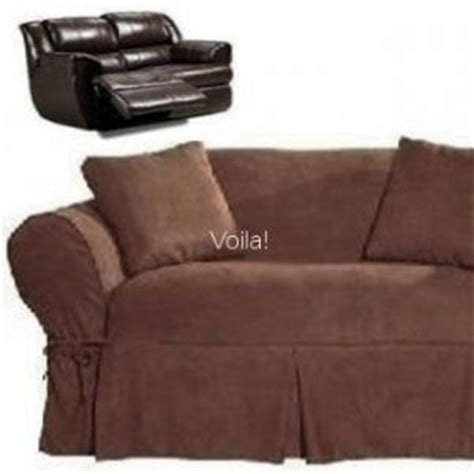 dual recliner slipcover reclining loveseat slipcover adapted for dual recliner