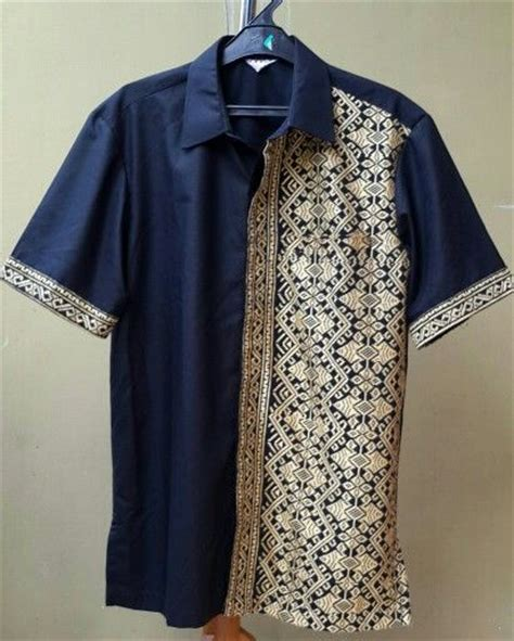 Baju Dress Hanaya Kemeja Pria 1000 images about inspiring style batiks on batik dress indonesia