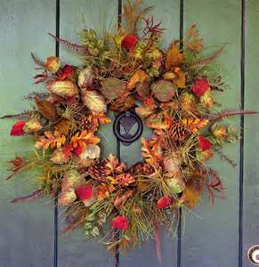 How To Make Fall Wreaths For Front Door Wreaths Amusing Fall Door Wreaths Door Swags For Anytime Of Year Autumn Door Wreaths His To