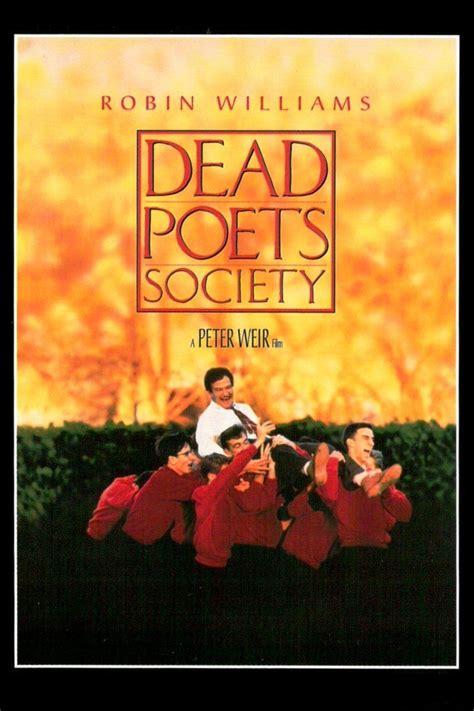 Novel Dead Poets Society dead poets society 187 masculinity