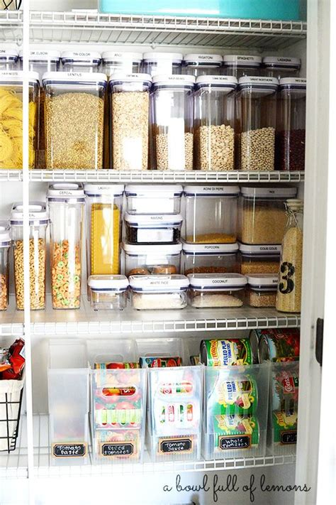 Organizing Containers For Pantry by 17 Best Ideas About Plastic Storage Containers On