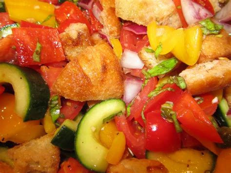 barefoot contessa salad panzanella salad the barefoot contessa s recipe