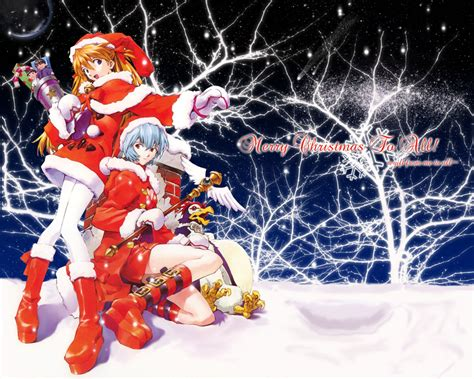 anime wallpaper hd christmas merry christmas to all from anime girls hd wallpaper