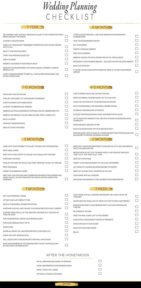 Wedding Hire Checklist by 25 Best Ideas About Checklist Template On
