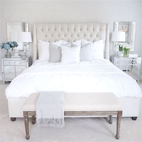 White Mirrored Bedroom Furniture Best 25 Neutral Bedrooms Ideas On Pinterest