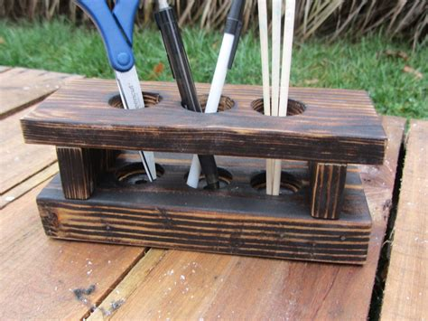 caddy corner desk crafted desk organizer made from reclaimed wood