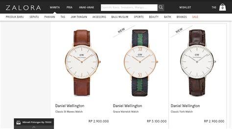 Jual Parfum Zalora jam tangan branded zalora jualan jam tangan wanita