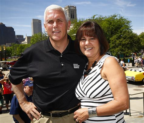 mike pence wife potential second lady karen pence sells towel charms fortune