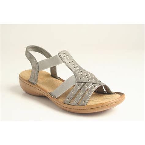 reiker sandals rieker rieker sandal with elasticated straps lightweight