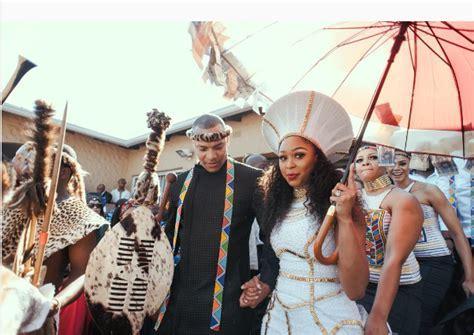 Top 5 Best Celeb Traditional Weddings 2017   OkMzansi