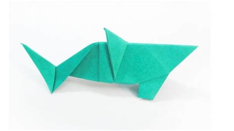 Intermediate Origami - pin intermediate origami shark folding with