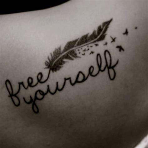 tattoo feather cute cutest tattoo ever free yourself tattoo s pinterest