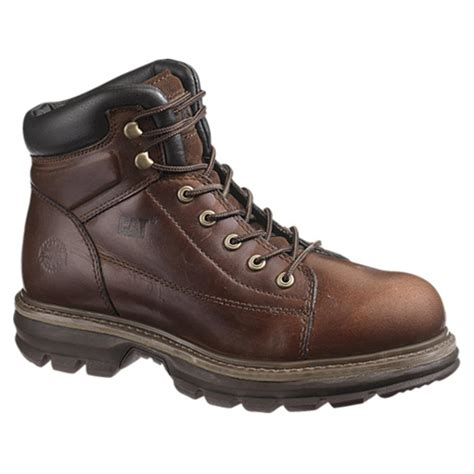 caterpillar work boots for s caterpillar 174 6 quot valor steel toe mike rowe work boots
