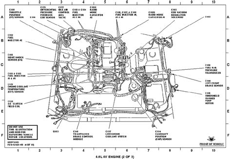 motor repair manual 1997 ford mustang navigation system 4 6 2v 1998 mustang gt engine wiring diagram and fuse box