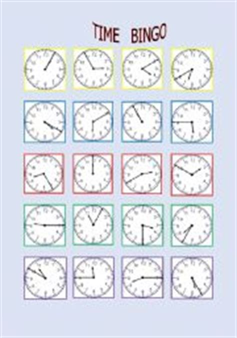 printable clock bingo search results for printable timr bongo calendar 2015