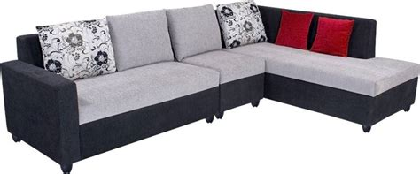 Grey Sofa Set Deals Bharat Lifestyle Nano Fabric 6 Seater Standard Sofa Set Rs