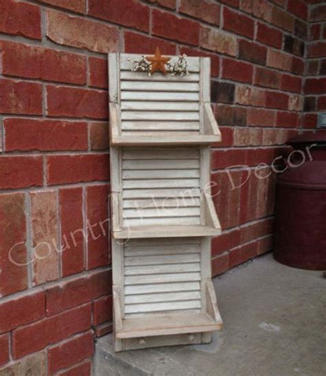 Decorating Ideas Using Shutters 1000 Ideas About Shutter Shelf On Shutters