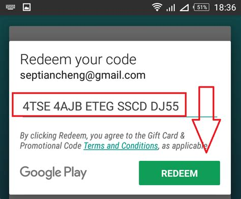 Google Play Gift Card Redeem Codes - cara redeem code google play gift card infoajib