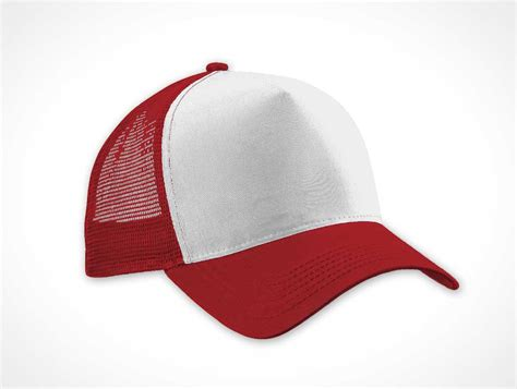 hat design mockup trucker cap apparel psd mockup psd mockups