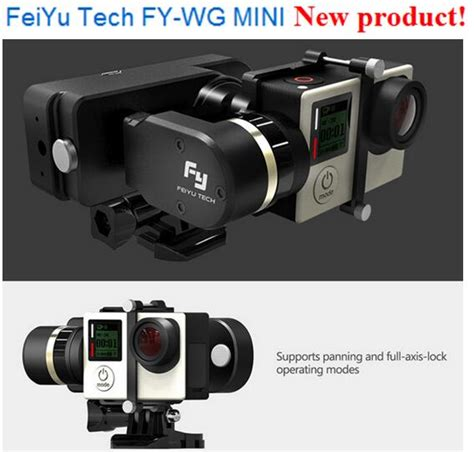 Feiyutech Wg Mini 2 Axis Wearable Gimbal For Gopro 33 Berkualitas feiyu tech fy wg mini 2 axis wearable gimbal compatible with gopro hero4 3 3 for