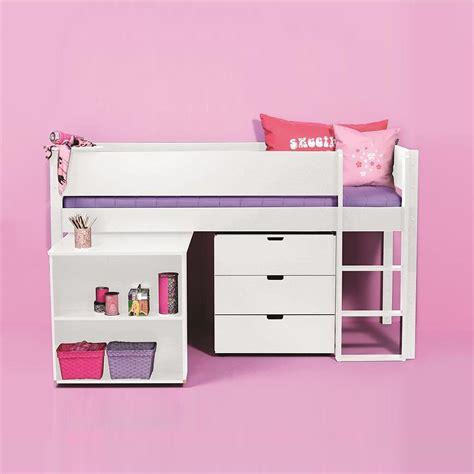 Kinderhochbett Mit Schreibtisch Kinderhochbett Lazadro In