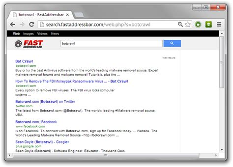 Add Search To Address Bar How To Remove The Fast Address Bar Virus Stop Search Fastaddressbar Redirect