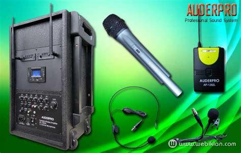 Wifi Genggam portable wireless pa system auderpro ap 1282pa ap 909pa web iklan