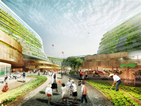 Multi Level House Plans by Spark Proposes Vertical Farming Hybrid To House Singapore