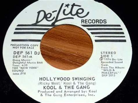 kool and the gang hollywood swinging kool the gang hollywood swinging youtube