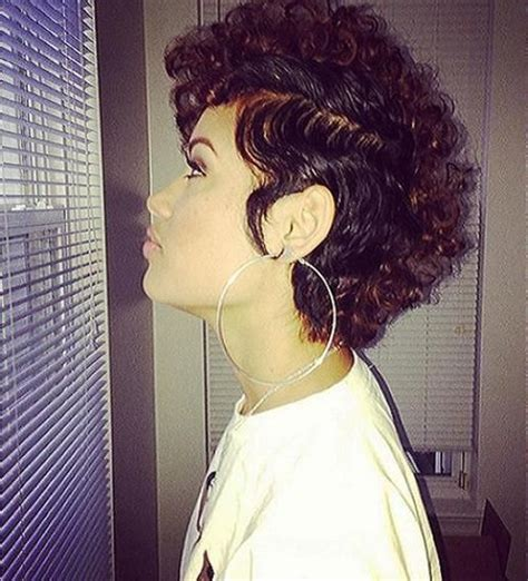 nicole mitchell short curly hairstyle for black women 133 best images about hair on pinterest natural hair